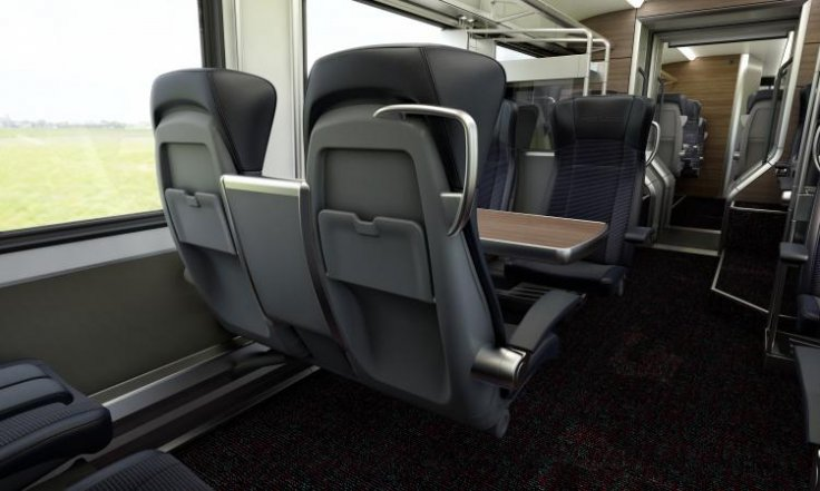 Greater Anglia First Class carriages