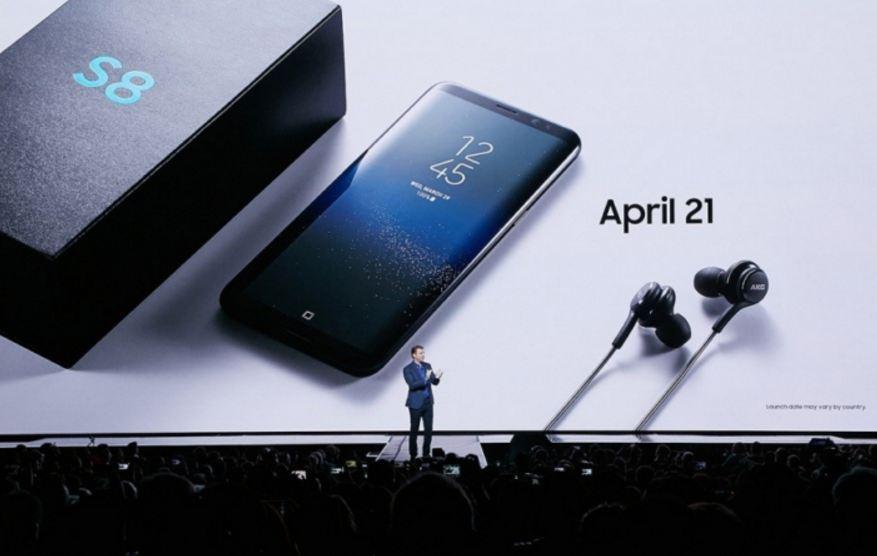 Galaxy S8 has best-performing smartphone display