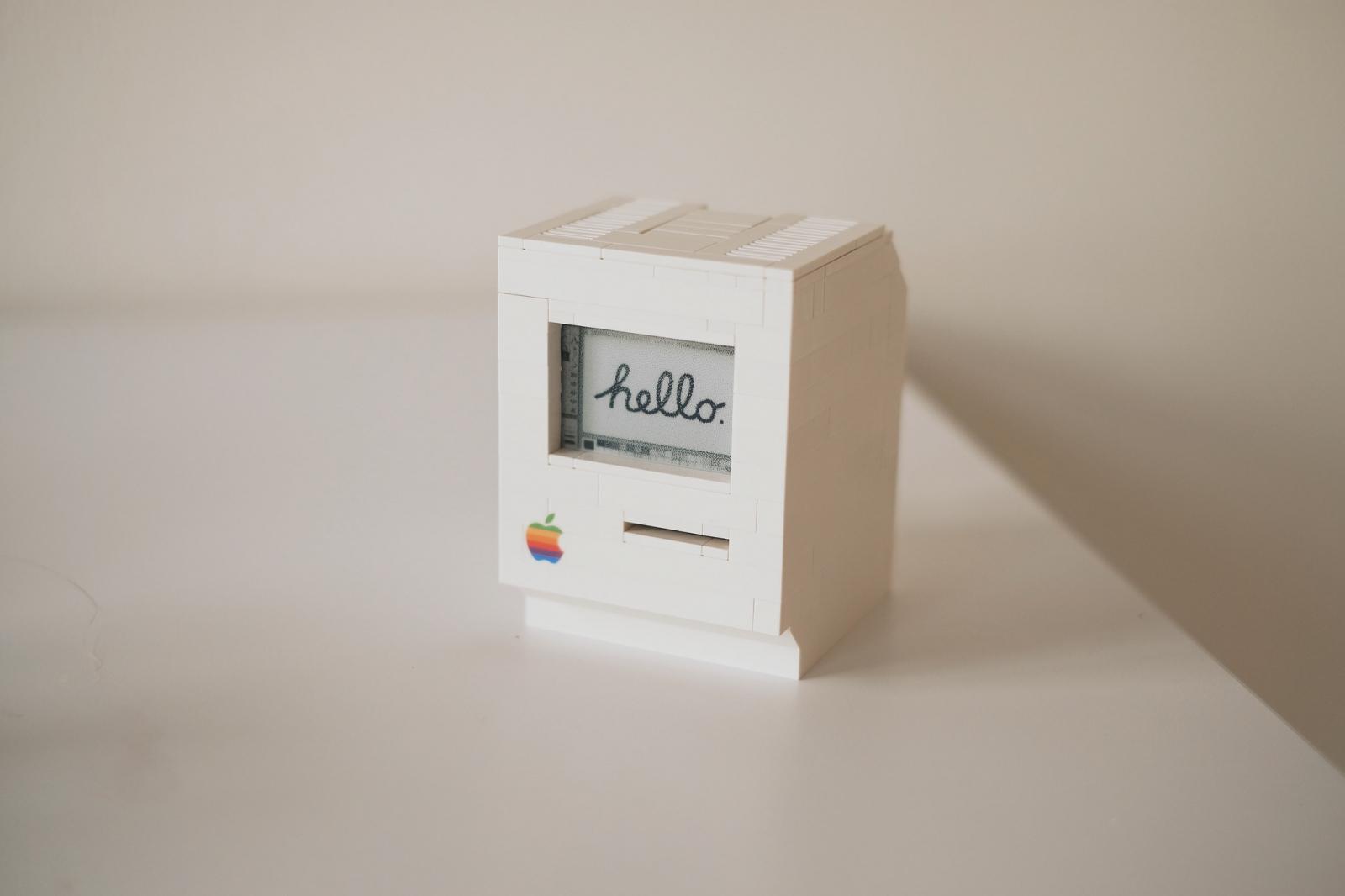 Lego Macintosh Raspberry Pi