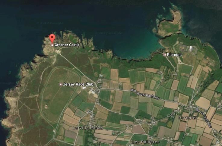 Grosnez map