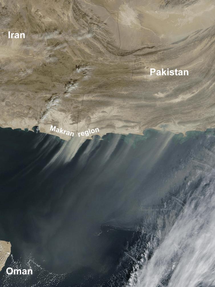 oman iran pakistan