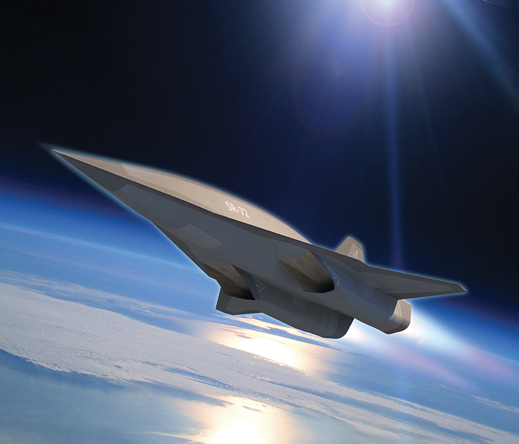 Lockheed Martin's SR-72 conceptualised hypersonic drone