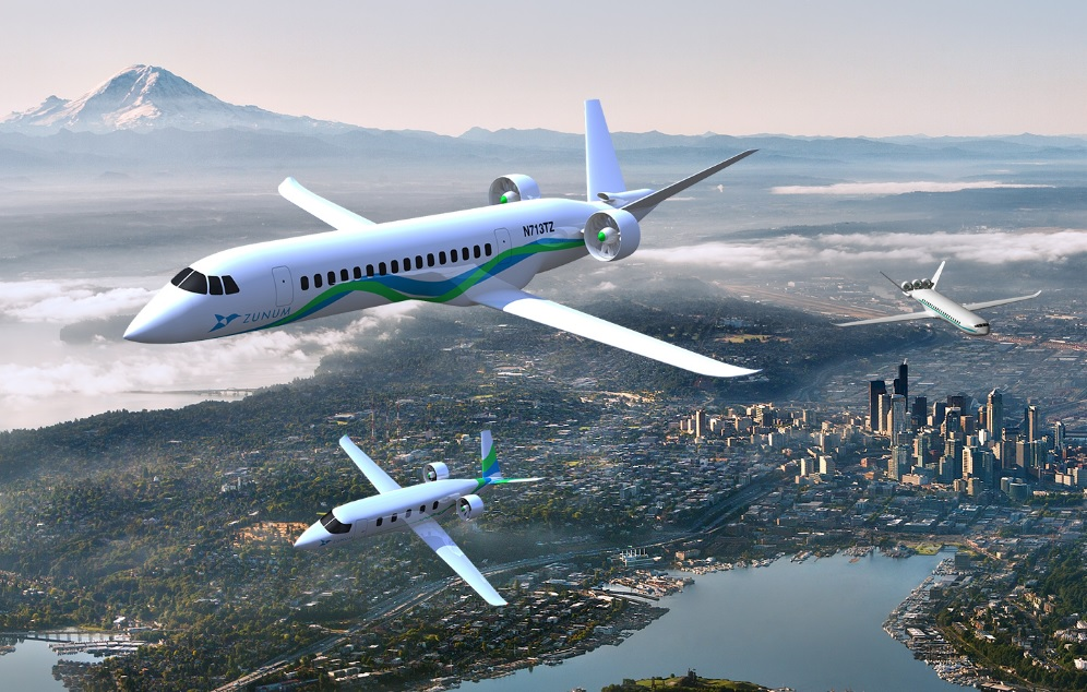Zunum Aero renders