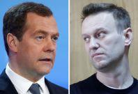 Medvedev - Navalny