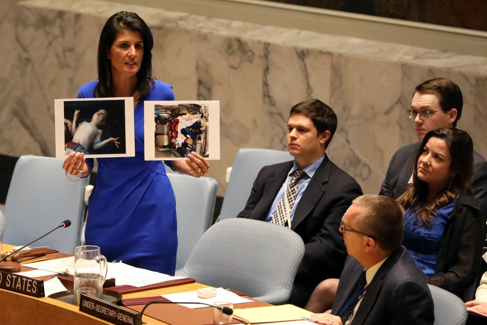 Nikki Haley Syria