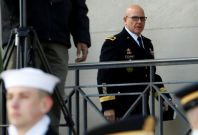 HR McMaster at the Pentagon