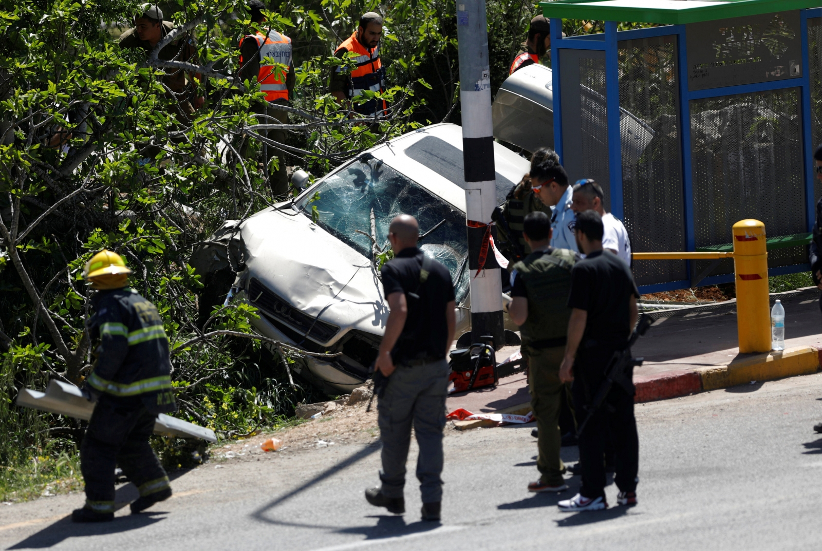 Israel West Bank car attack