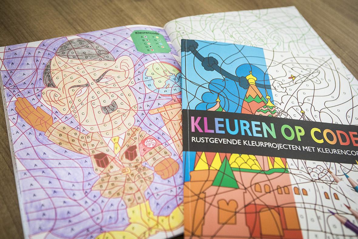 Hitler colouring book