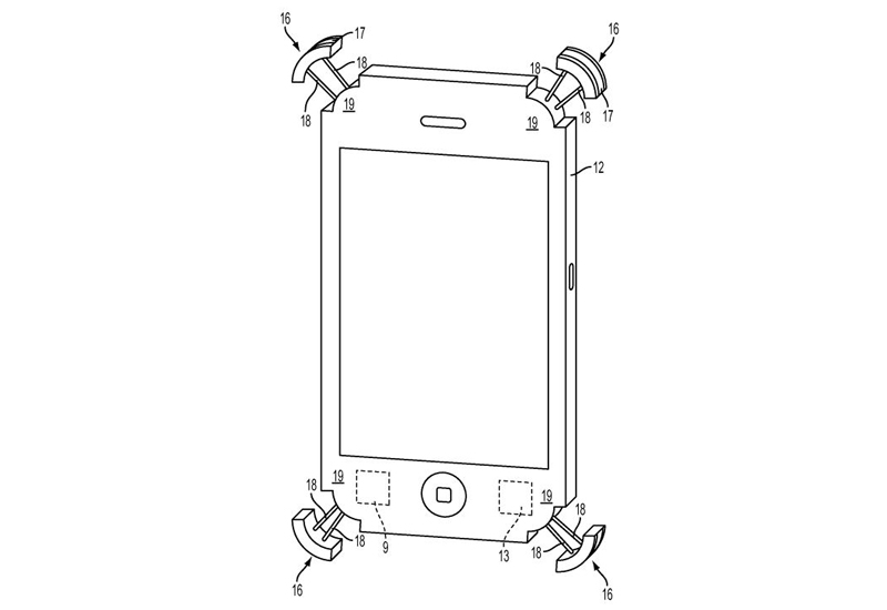 Apple bumper patent