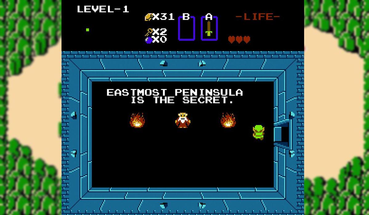 Legend of Zelda Peninsula