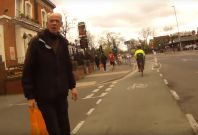 cyclist abuse man Manchester