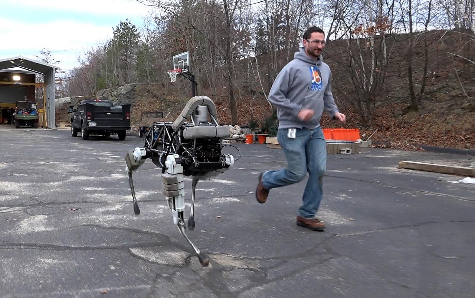 Boston Dynamics' robot dog Spot