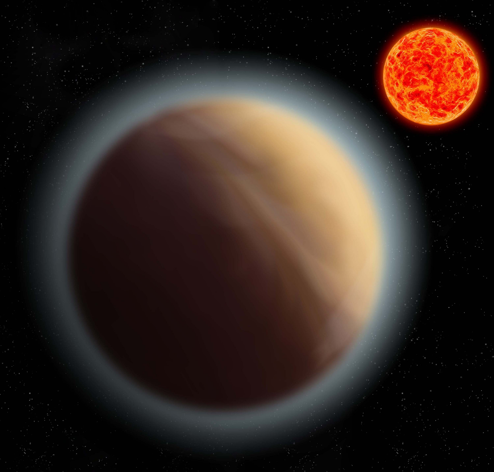 Atmosphere found around Earth-like planet