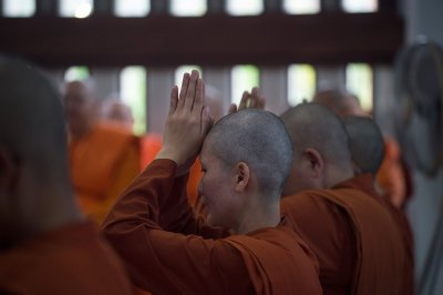 Female Buddhist monks