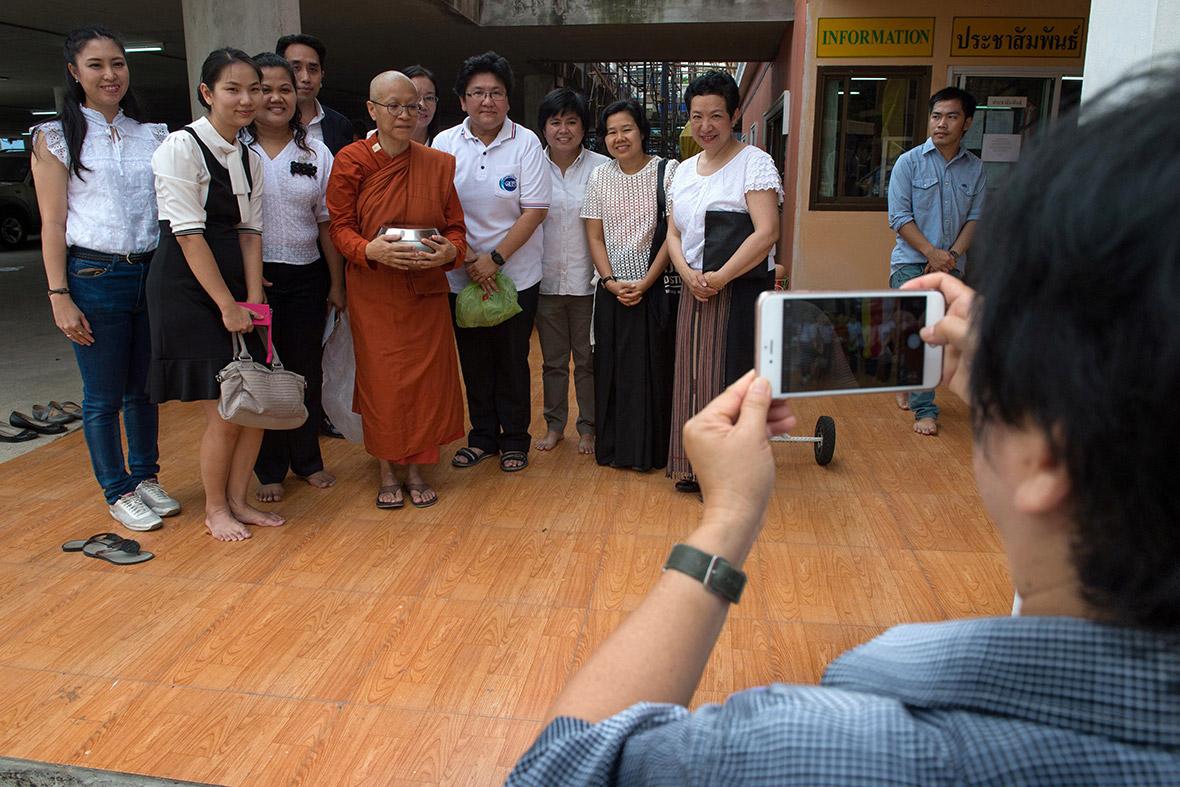 Female Buddhist monks