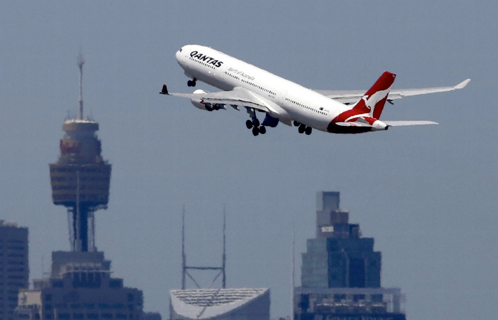 Qantas non-stop London to Sydney flight