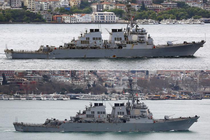 USS Ross USS Porter