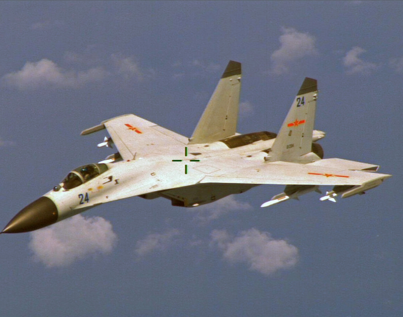 Chinese J-11 fighter jet