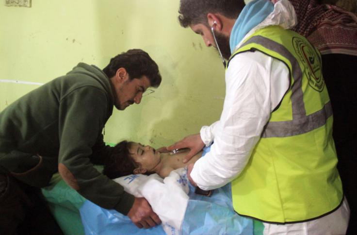 Khan Sheikhoun victim