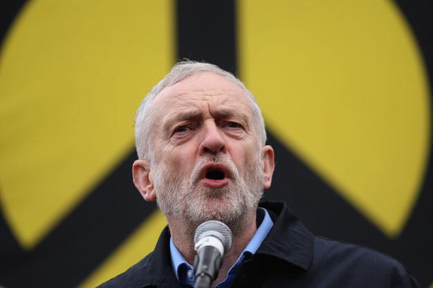 Corbyn addresses a Stop the War