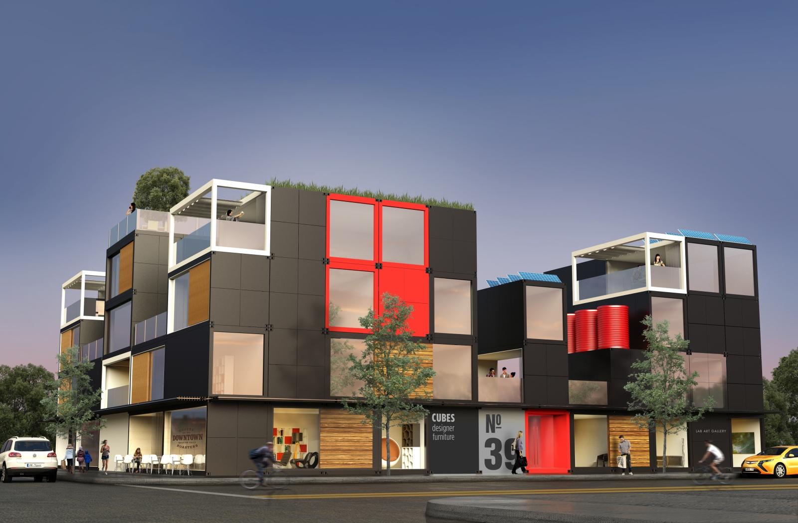 Blokable modular homes