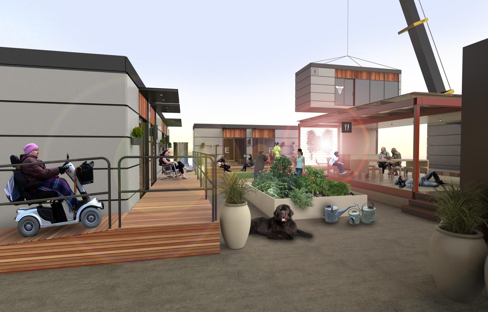 Blokable modular community home