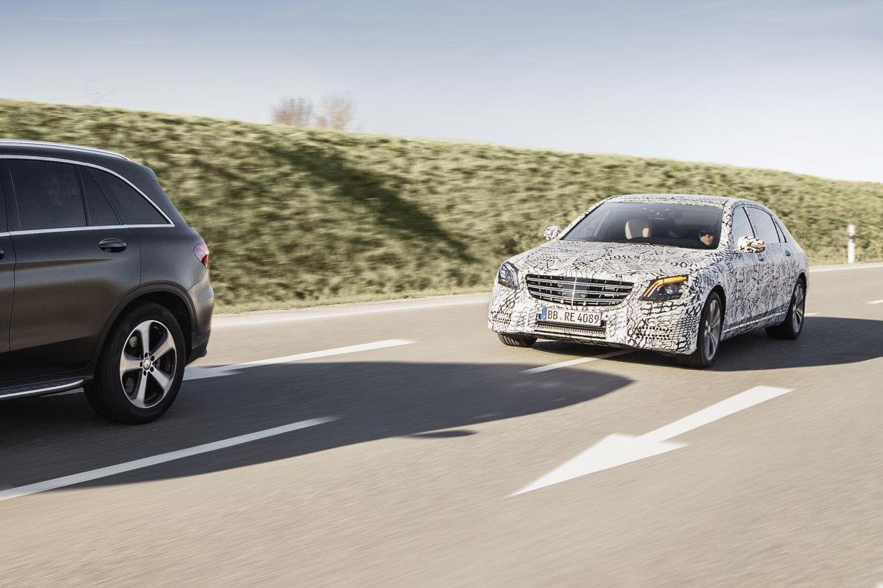 New 2018 Mercedes S Class Has Self Drive Tech