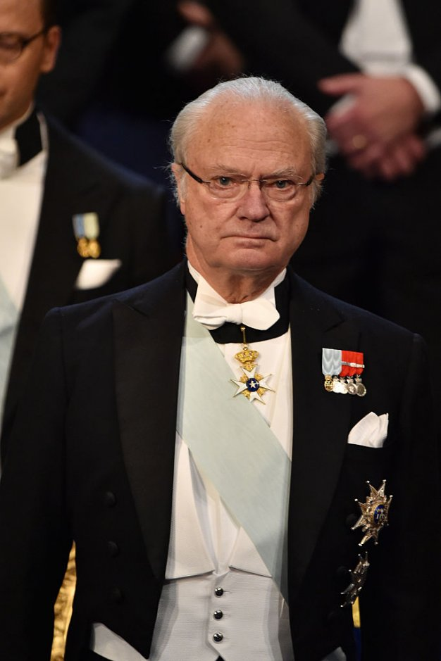 King Carl XVI Gustaf of Sweden