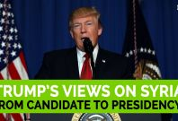 Trump Statements On Syria Have Evolved From Candidate To Presidency