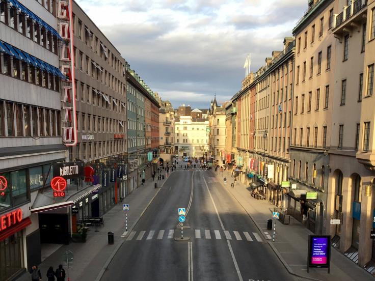 Stockholm truck terror streets sealed off