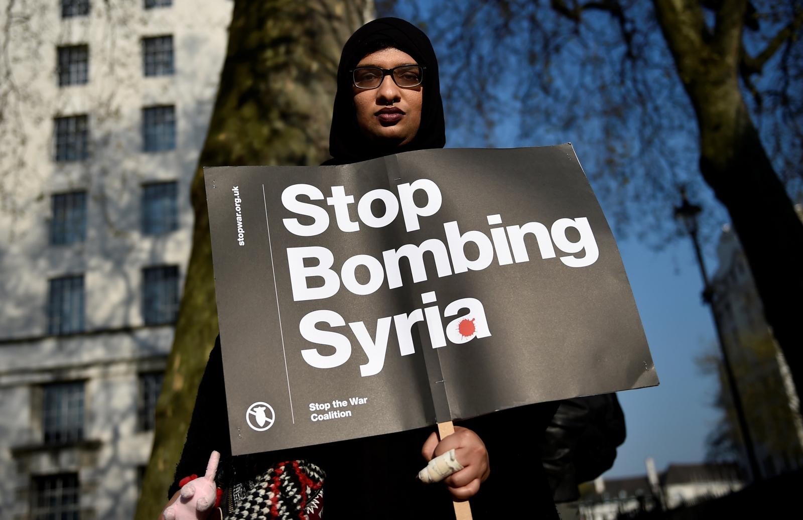 US bombing of Syria