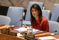 Nikki Haley US envoy to UN