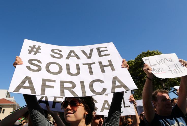 Anti-Zuma protest