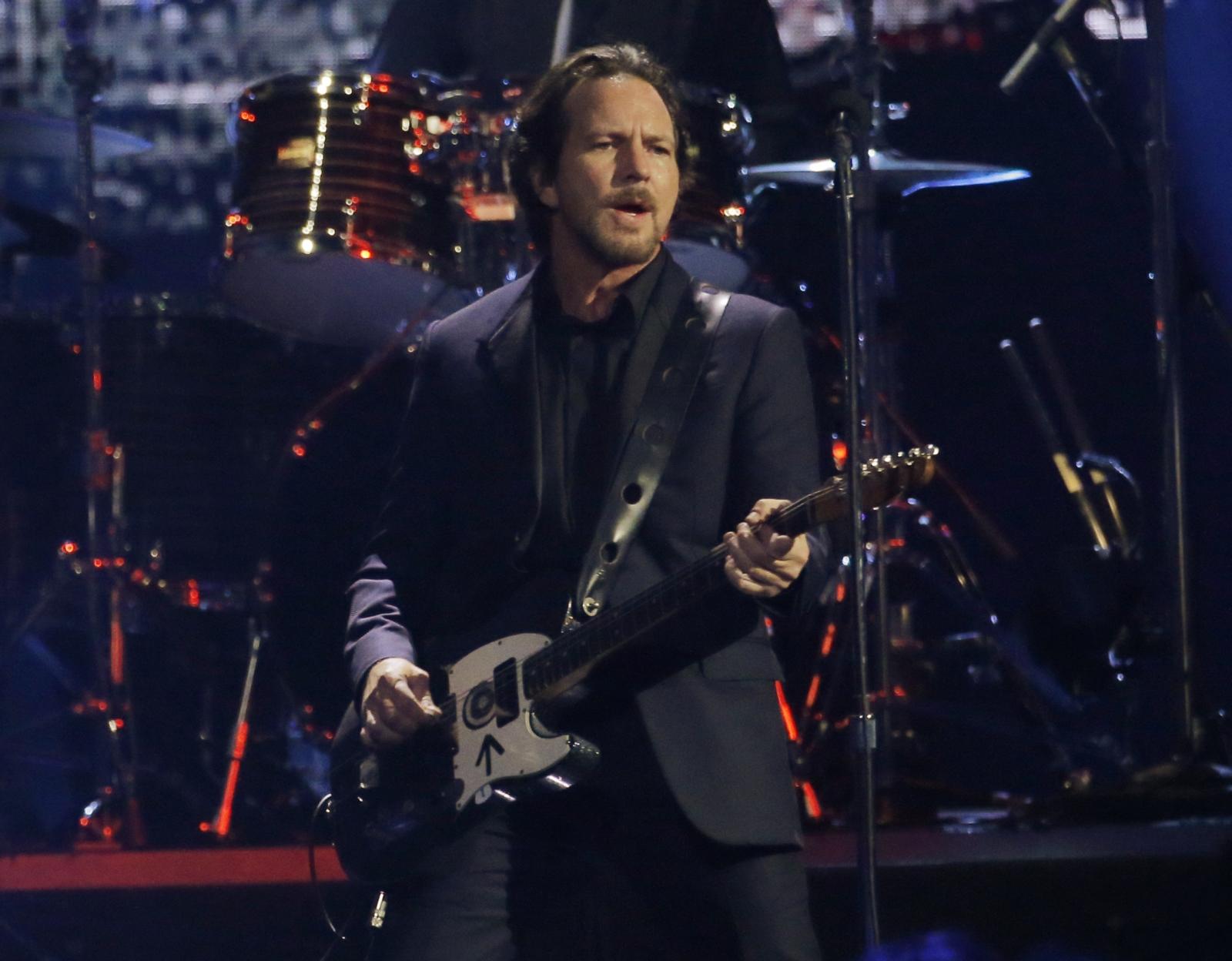 Peal Jam Eddie Vedder Hall of Fame
