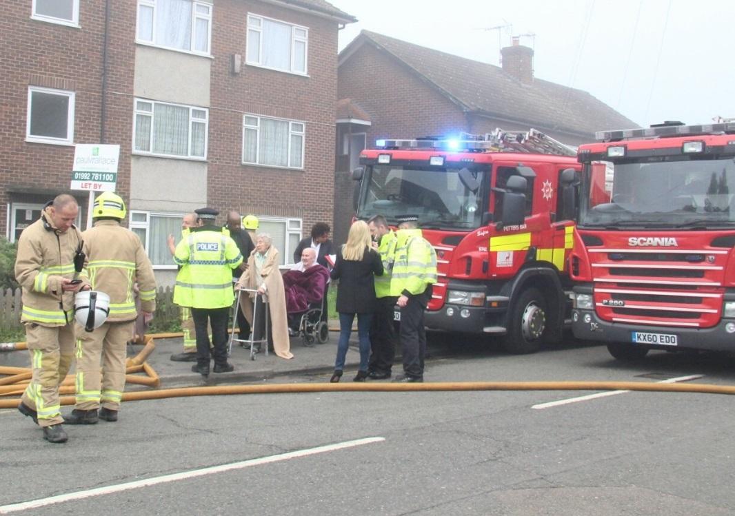 Hertfordshire fire
