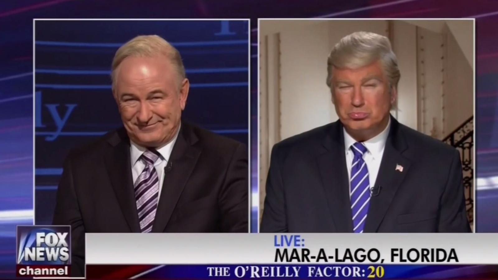 Baldwin O'Reilly Trump