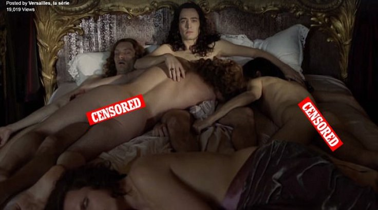 Raunchy Bbc Drama Versailles Returns For Series 2 And -9751