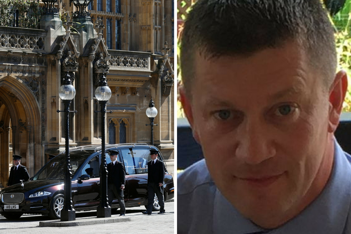westminster Keith Palmer
