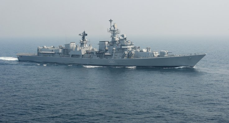 Indian navy warship INS Mysore