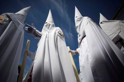 Semana Santa Holy Week hooded penitents
