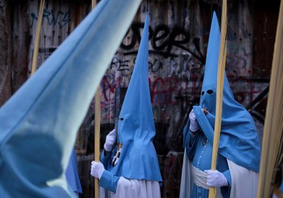 Semana Santa Holy Week hooded penitents