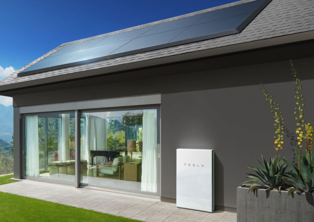 Tesla Panasonic solar roof panels