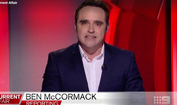Ben McCormack A Reporter For The Local Current Affair Programme Was Arrested On 6 April Nine