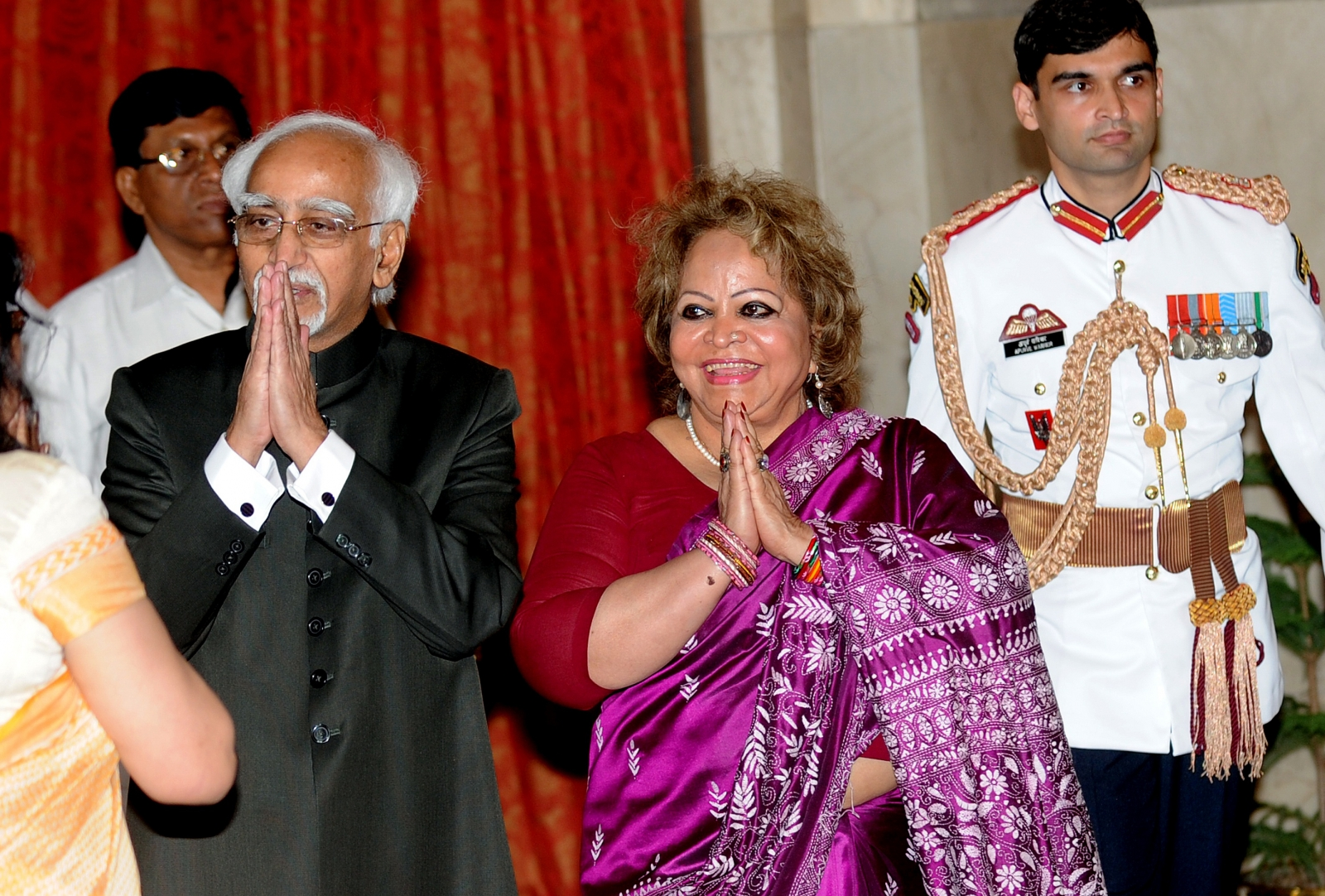 Salma Ansari wife of Hamid Ansari