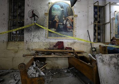 Coptic church explosion