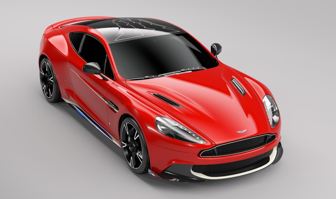 Aston Martin Q Vanquish S Red Arrows