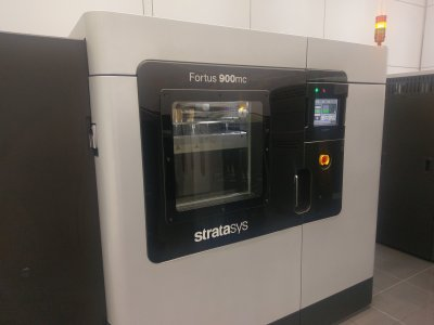 McLaren Stratasys 3D printer