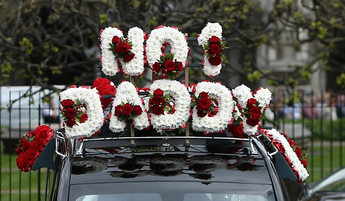 Pc Keith Palmer funeral cortege