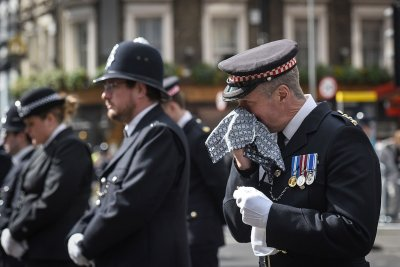 Pc Keith Palmer funeral cortege London