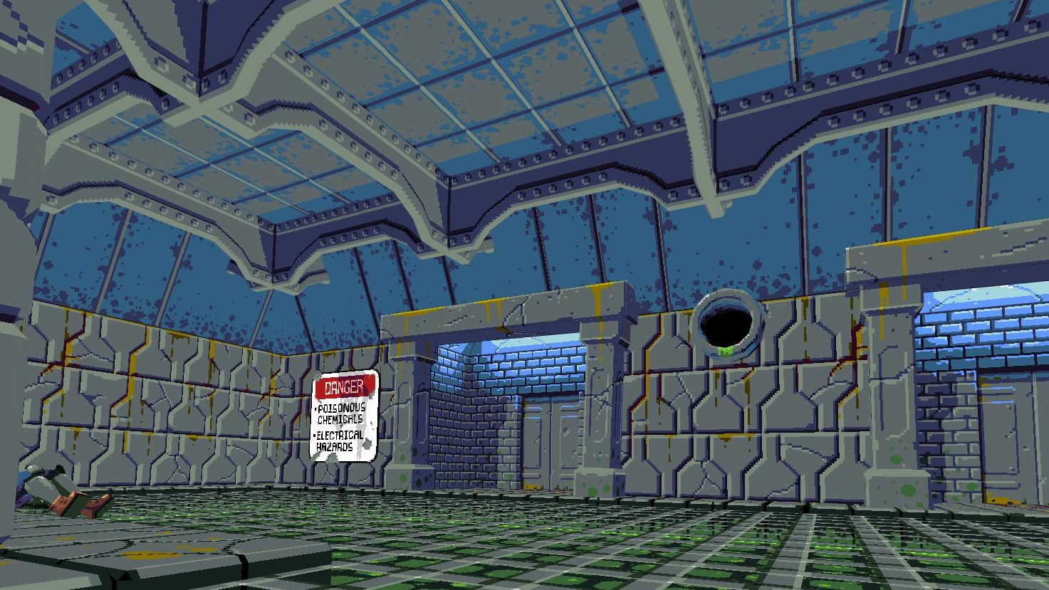 Compound VR screenshot
